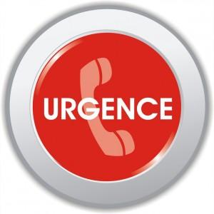 bouton urgence