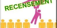 Offre d'emplois – recensement de la population – 3 agents