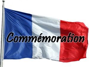 drapeau francais commémoration